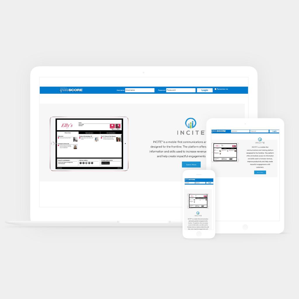 quizscore web development