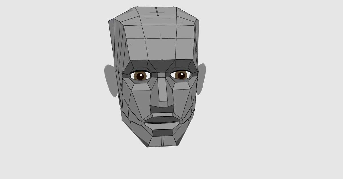 virtual reality head
