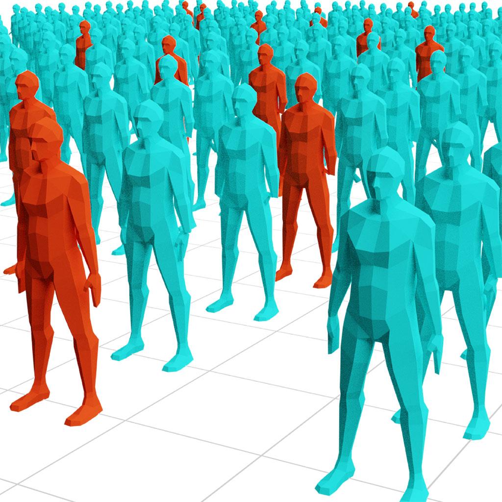Ebola Prevalence in VR